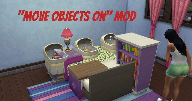 The sims 4 quot move objects on quot mod by twisted mexican simsvip