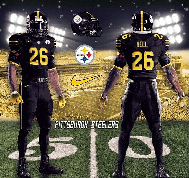 on sale e0bdc 4f07c blacked out steelers jersey