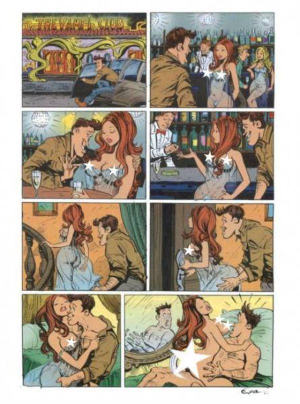 картинки комиксы эротические