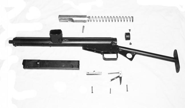 Diy Sten Gun The Firearm Blog