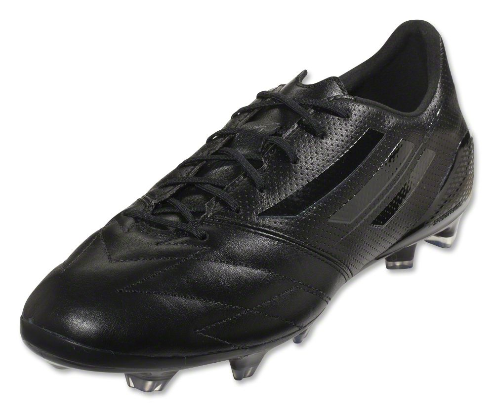 adidas f50 adizero all black leather