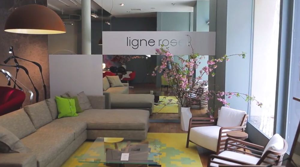 a visit to ligne roset nyc design milk. Black Bedroom Furniture Sets. Home Design Ideas