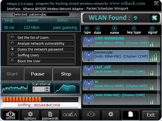 4 Best WiFi hacking software to reveal passwords- My WIFI Router