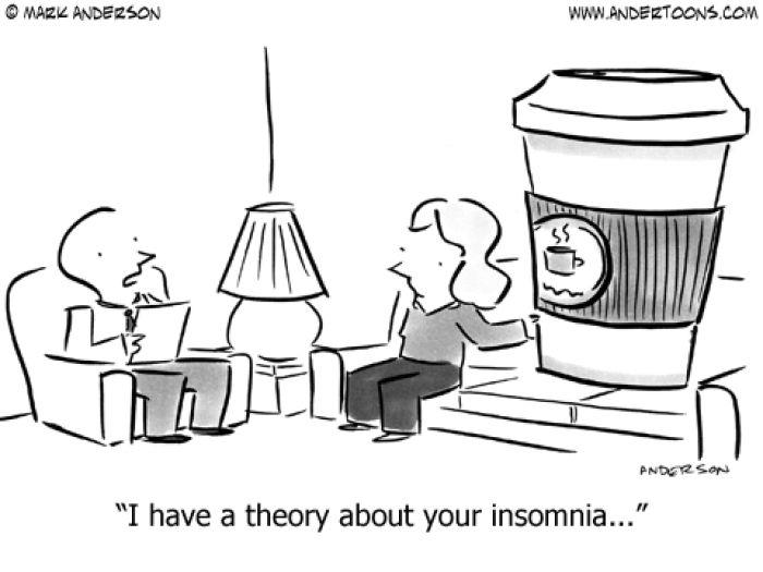 insomnia coffee cartoon jokes memes pictures