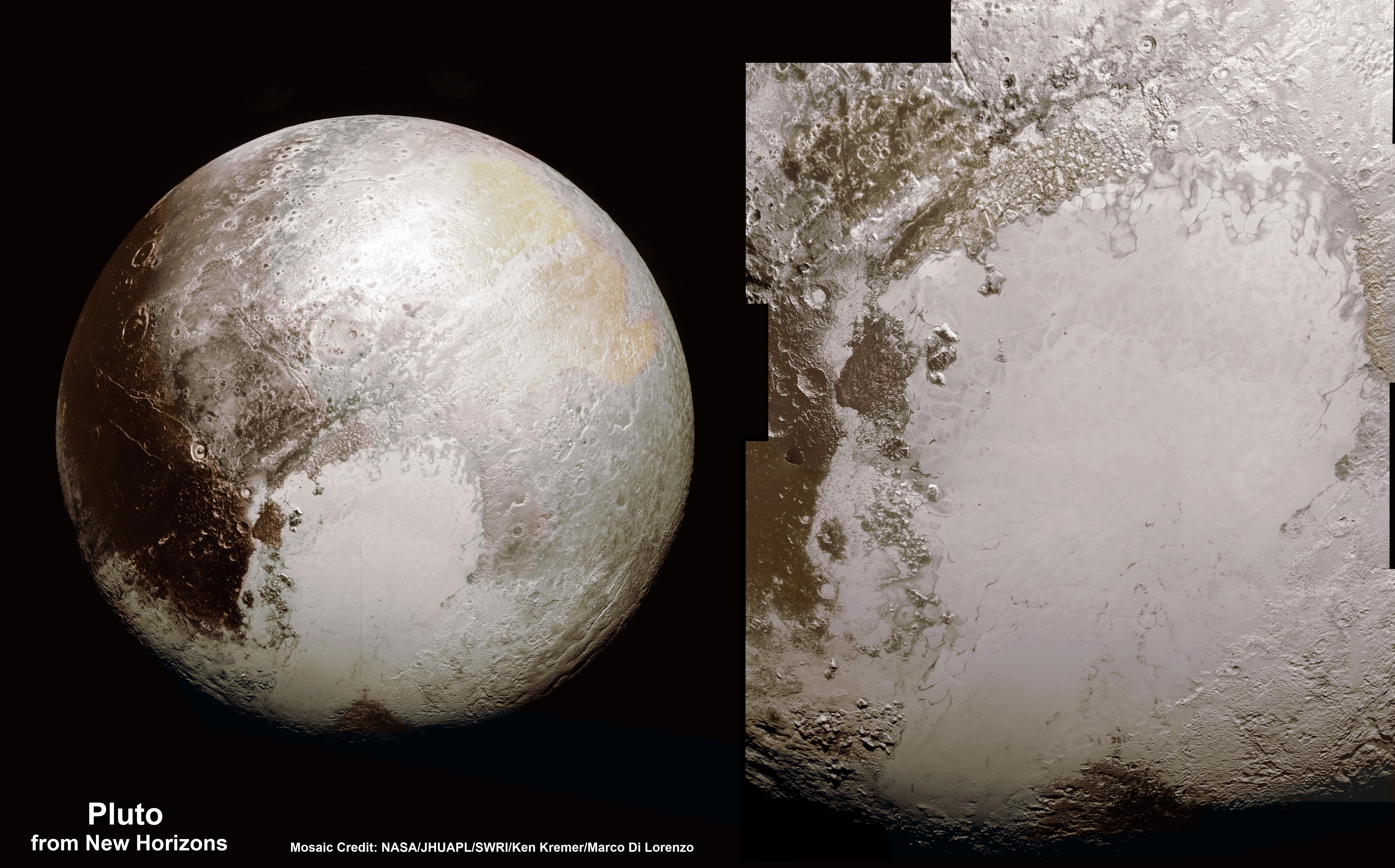 nasa new horizons pluto pictures - HD5928×3690