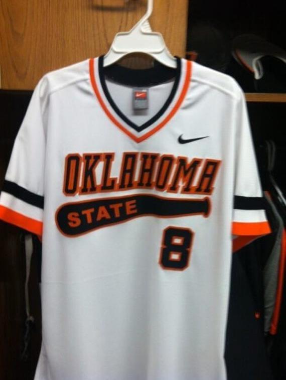 75f6fe986 Oklahoma State's 80's retro Nike baseball uniforms.