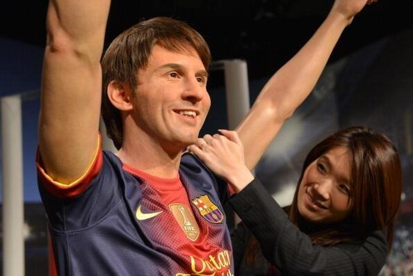 Wow Lionel Messi Wax Statue In Japan This Statue