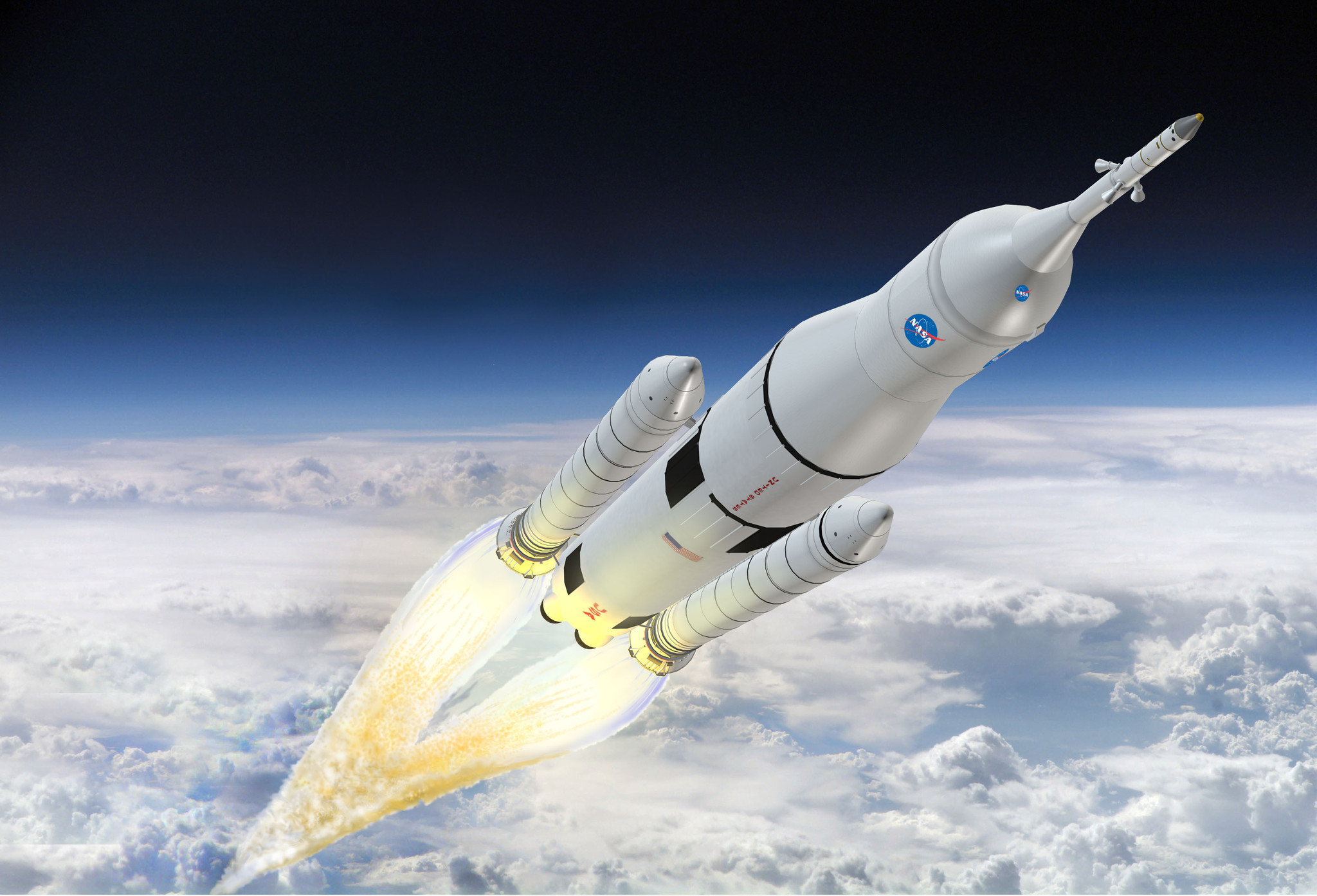 Upcoming launches and landings of crew members to and from the International Space Station and launches of rockets delivering spacecraft that observe the Earth