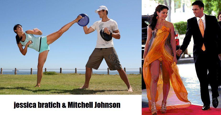 Mitchell Johnson And Jessica Bratich Jessica Bratich Mitchell