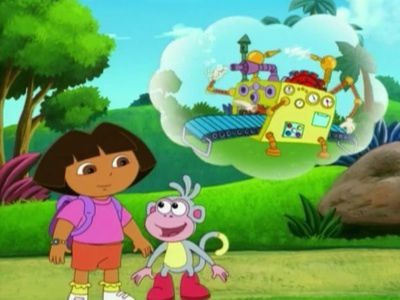 Watch Boots' Cuddly Dinosaur (Ep 19) - Dora the Explorer ...