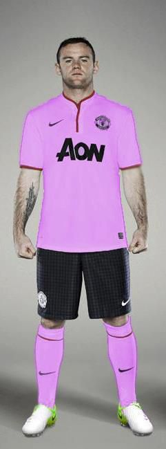 new concept 488f8 a77ce Man Utd FAKE Pink Kit For Next Season. Worst Man Utd Kit ...