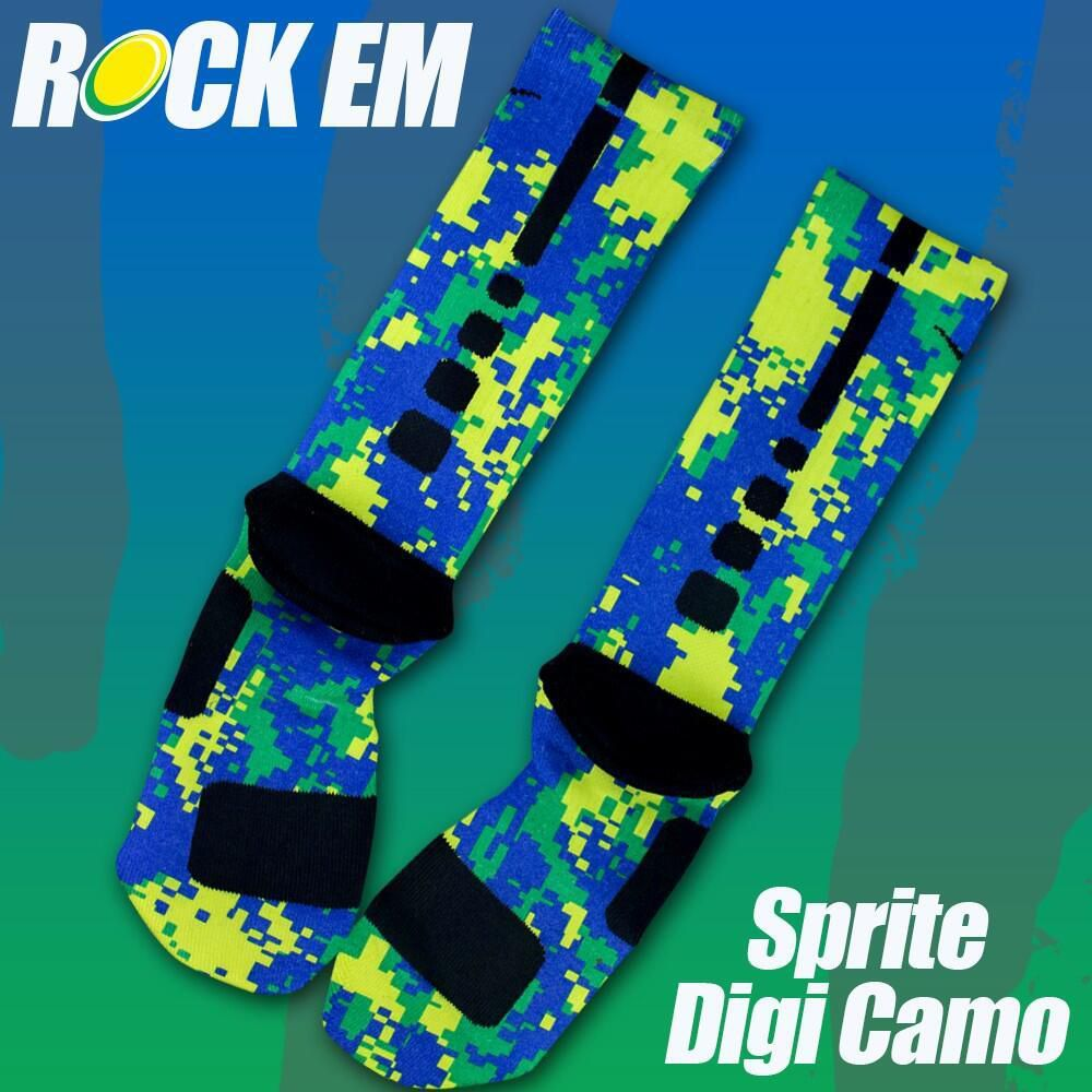Nike Elite Socks Camo Camo Nike Elite Socks by