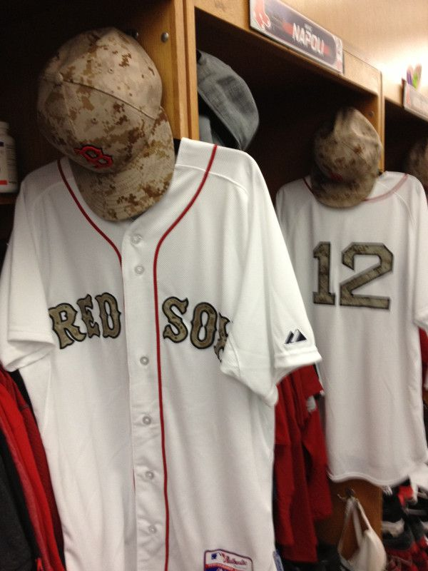 Red Sox Camo Memorial Day Uniforms (PIC) 2fcf791c105