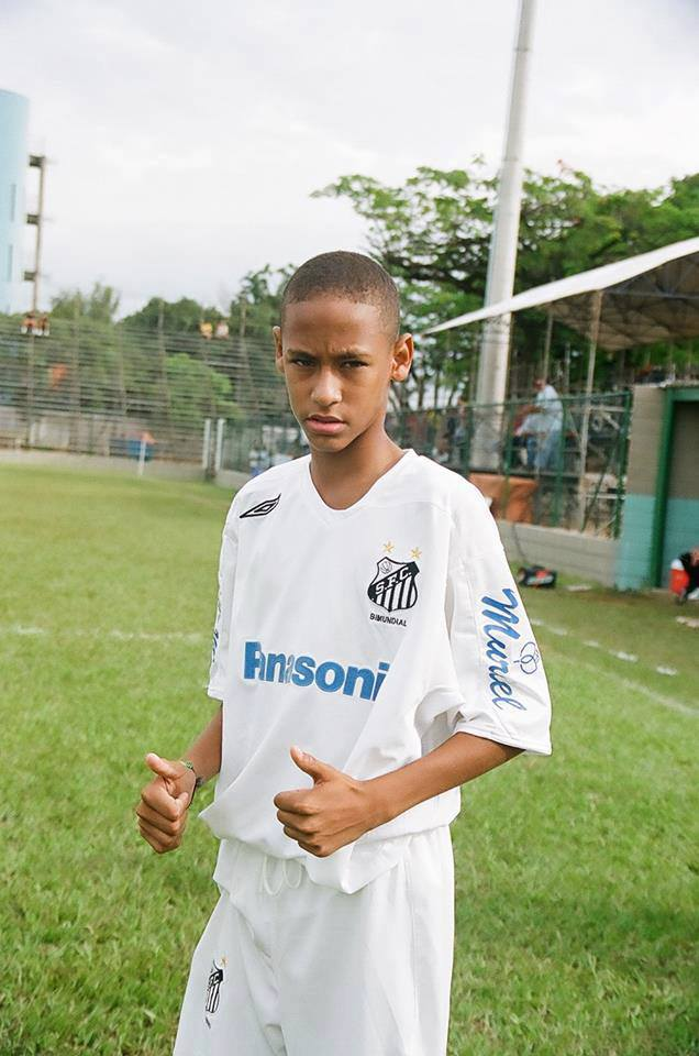 Young Neymar Haha He Changed Alot See Here Gt Gt