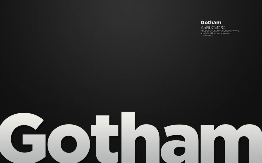 Download Gotham Light Font Free Download - listeagle