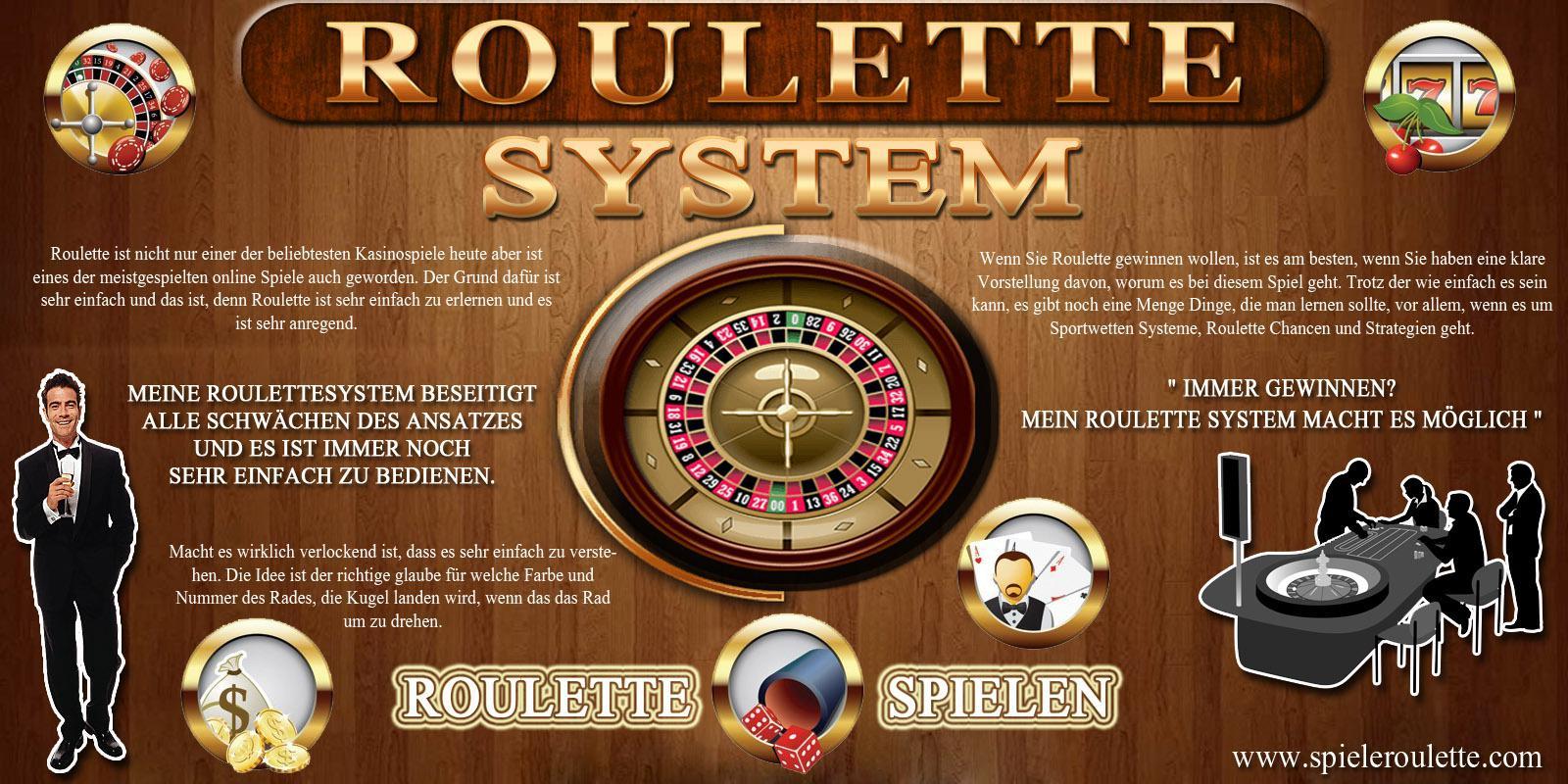 Roulette nach system spielen