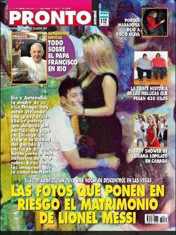 Photo Married Lionel Messi Caught Red-Handed With Another Woman His Wife  Son Will -1337