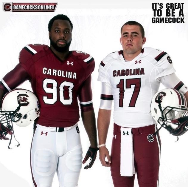 South Carolina S New 2013 Under Armour Football Uniforms