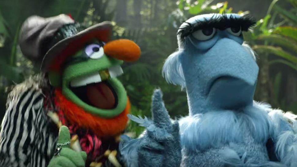 Sam the Eagle Refuses to 'Jungle Boogie' with the Muppets ...
