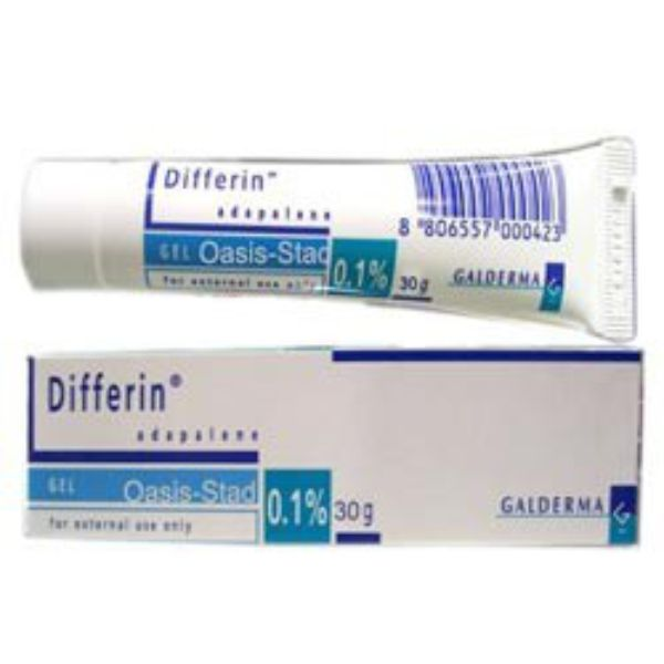 Buy Differin Gel 0.1% Online - Generic Adapalene Gel