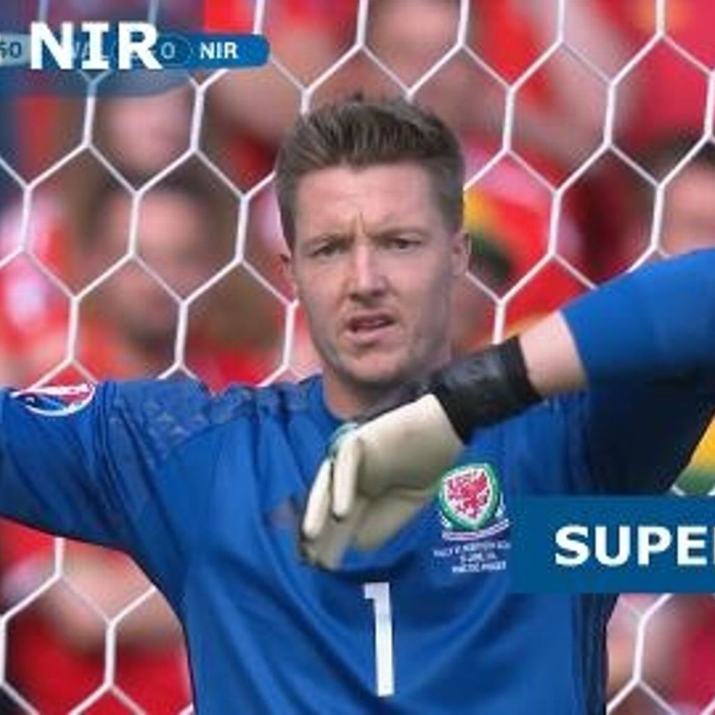 Wales Vs Northern Ireland Super Saves Uefa Euro 2016 25th