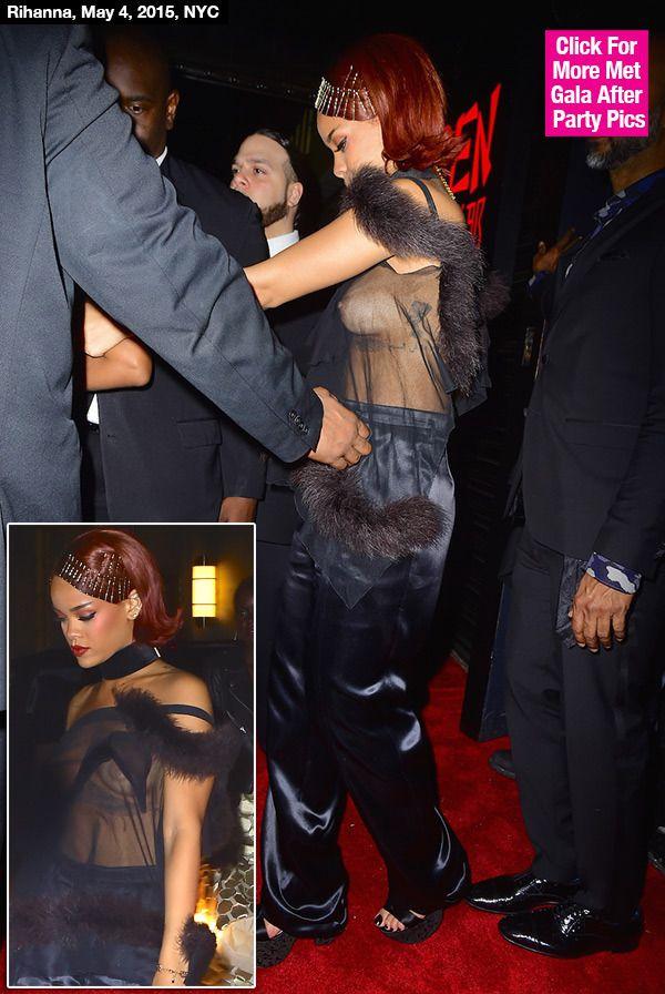 Rihanna Boob Slip 49