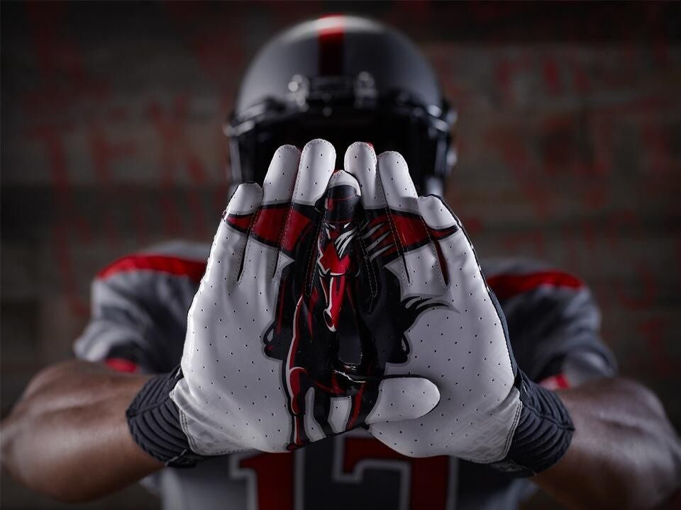 Texas Tech S Under Armour Football Gloves