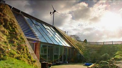 Earth sheltered house grand designs
