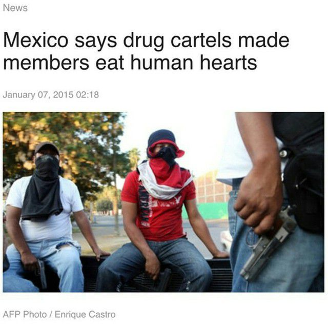 A Mexican federal security official said drug cartels forced gang