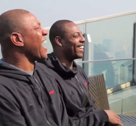 Clippers Rookie Singing Happy BDay To Doc Rivers & PP (Video