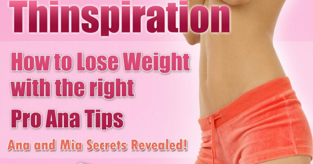 Charlotte Thomson : Pro Thinspiration Diet PDF-Book