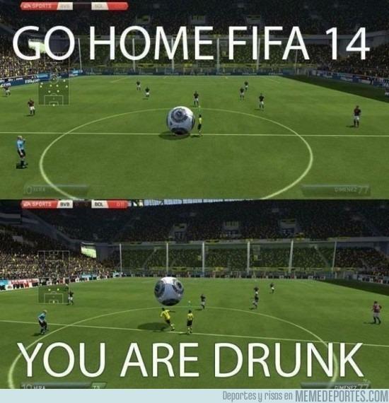 Fifa 14 Hungary Home: Go Home FIFA 14, You're Drunk