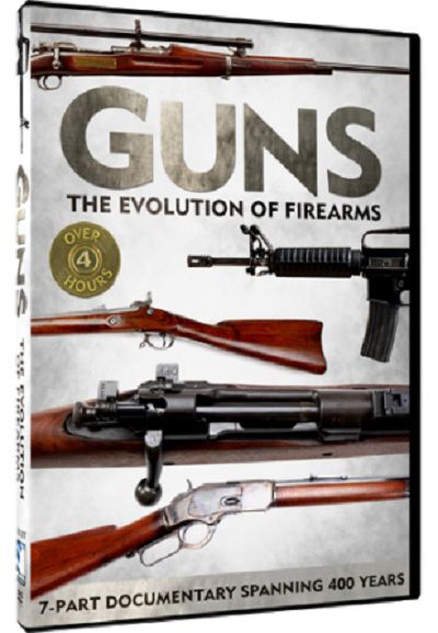 history of the gun This series follows the history of the development of personal firearms from the development of gunpowder to the introduction of the m-16 assault rifle along the way, the series profiles major american inventors and users of guns like john browning, billy the kid, annie oakley and john garand.