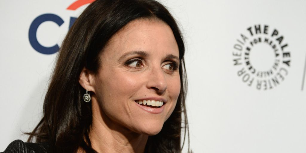 Julia Louis Dreyfus Clown Julia Louis Dreyfus Gets Down