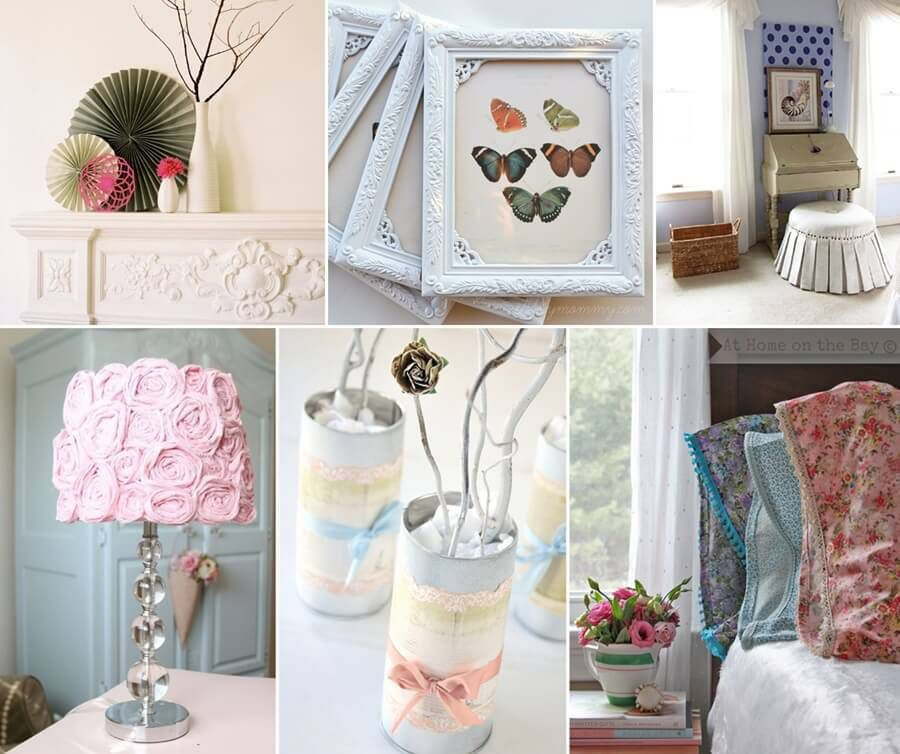 Diy Shabby : 10 Stunning DIY Shabby Chic Home Decor Projects