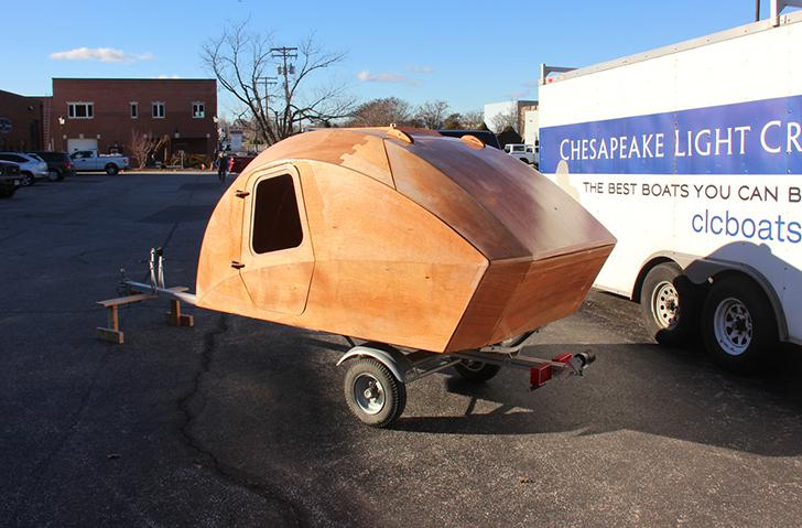 Build An Ultra Lightweight Teardrop Trailer With This Kit