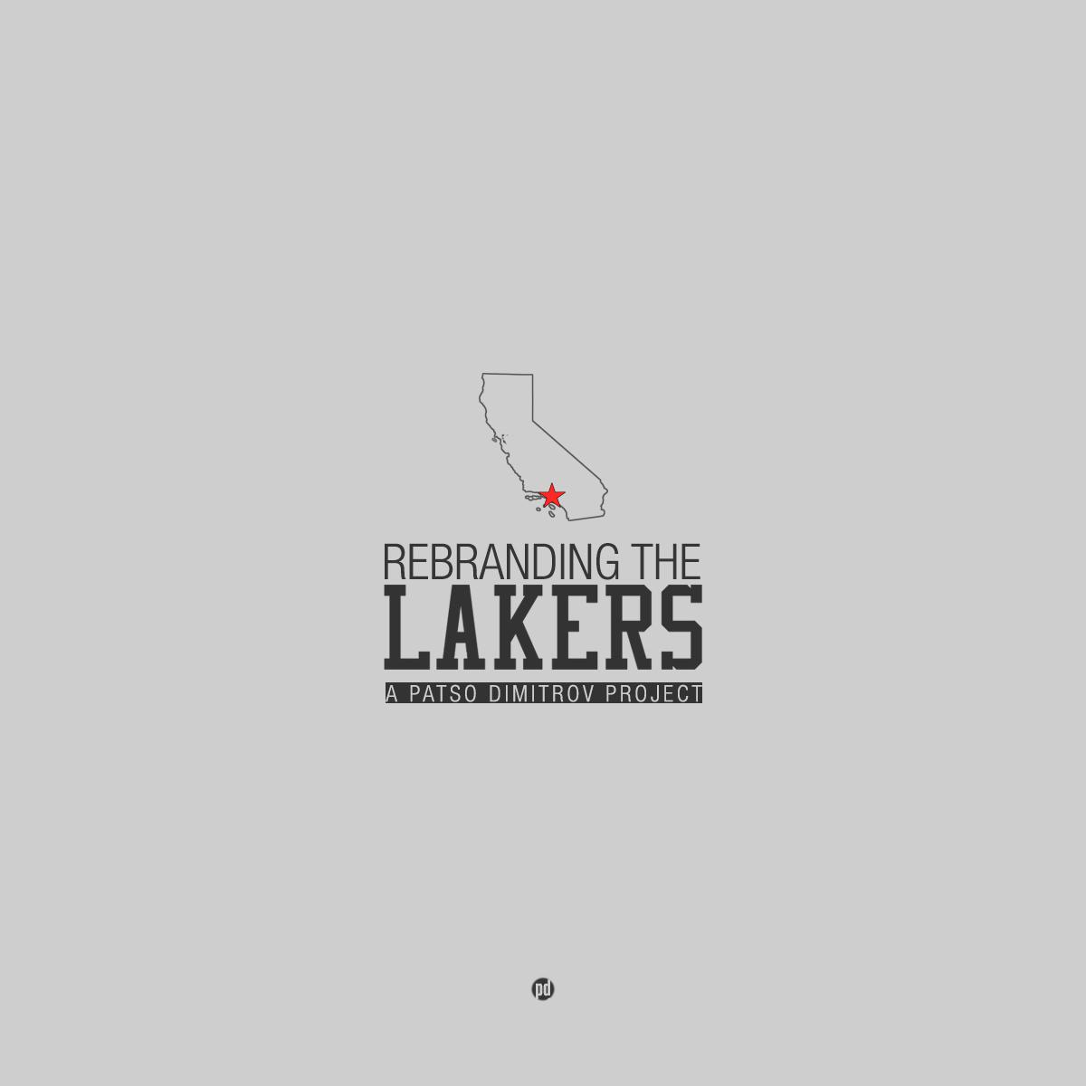 Lakers >> Los Angeles Lakers Rebrand Project