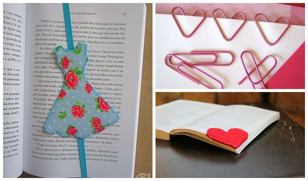 25 creative diy bookmarks ideas architecture art designs for Easy bookmark ideas