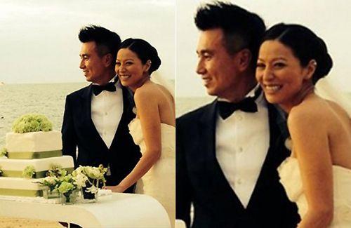 Celebrity Weddings Joyce Tang And Matthew Chu