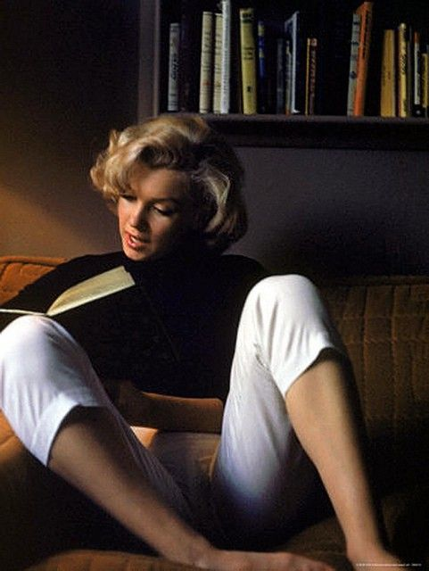 Marilyn Reading a Book The 430 Books in Marilyn