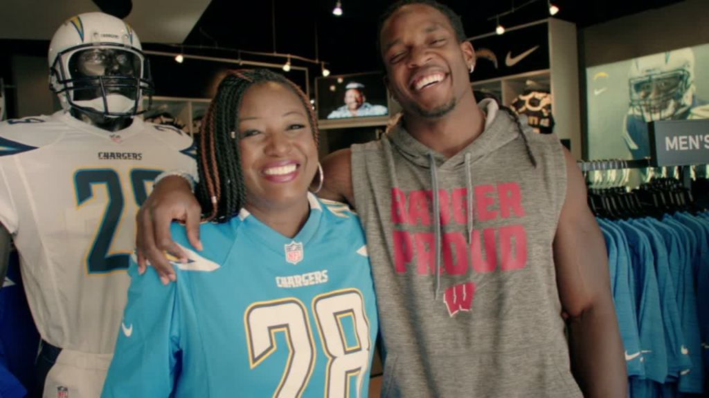 Melvin Gordon And His Mom S Jersey Dilemma Espn Video