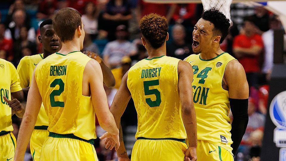 Oregon basketball: Ducks beat Arizona in Pac 12 tournament