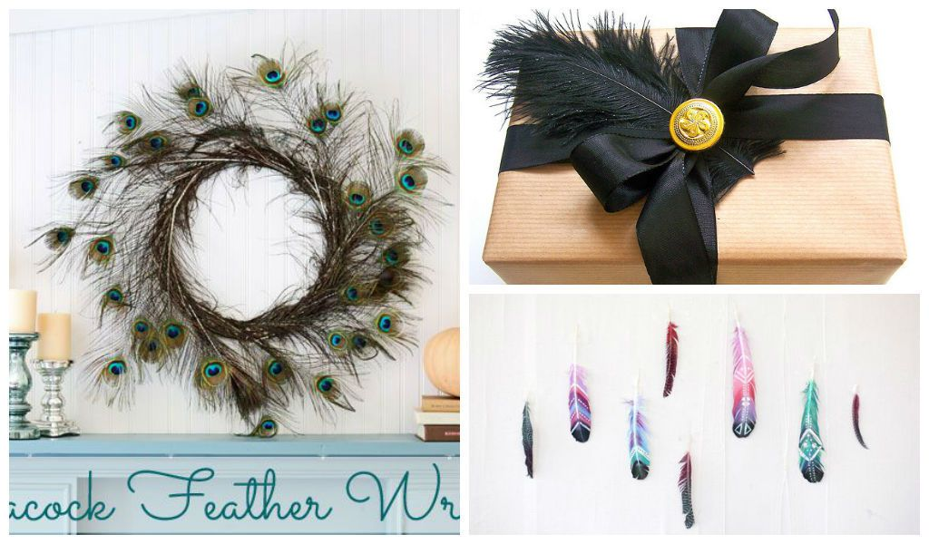 25 lovely diy feather crafts ideas   architecture art designs