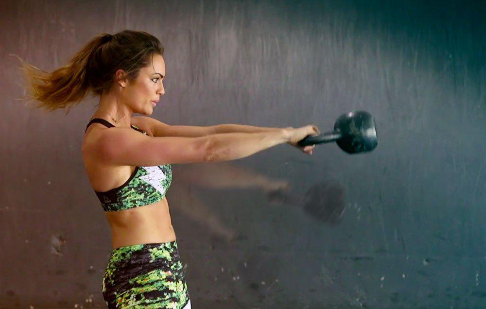 This Kettlebell Workout Will Chisel Your Abs And Lower Body