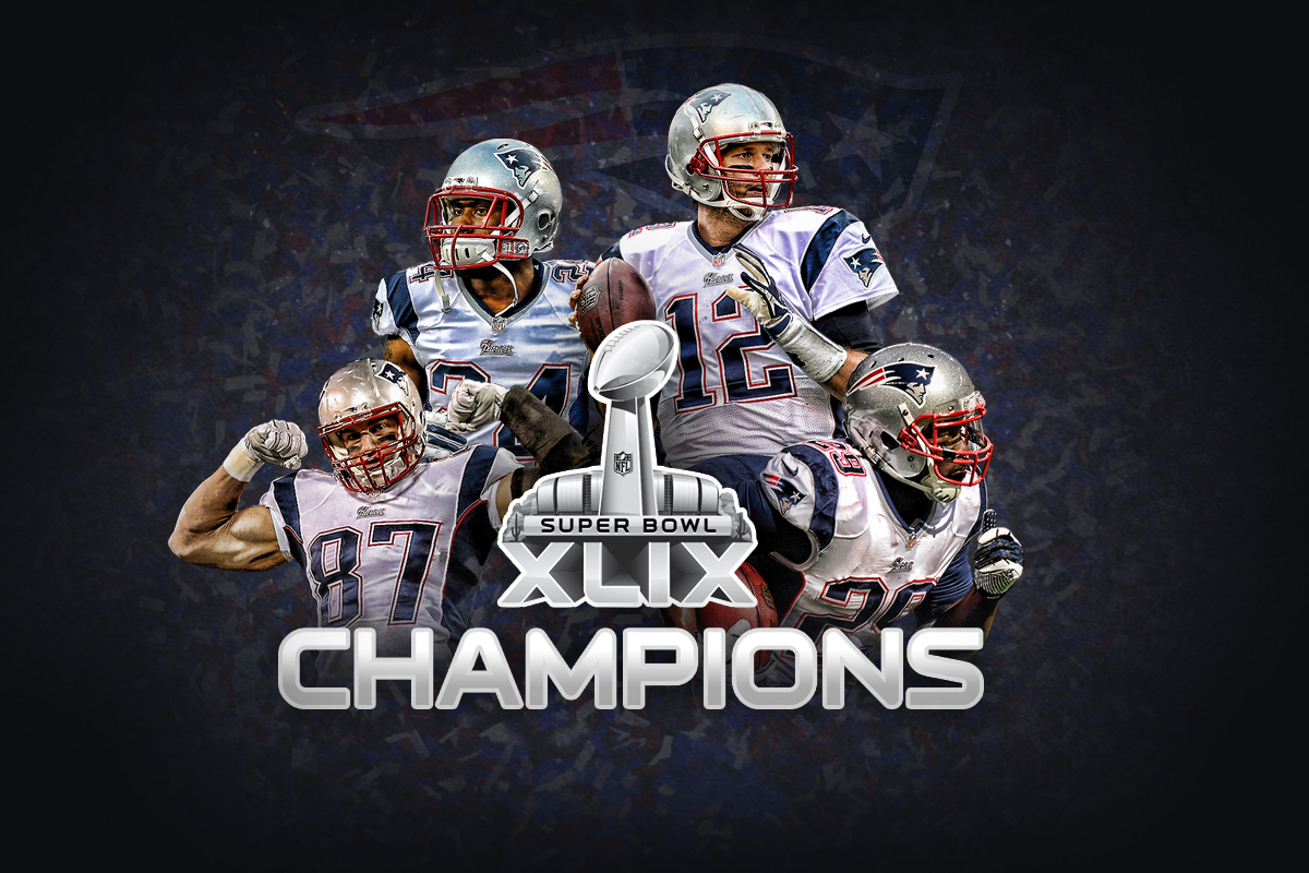 Patriots Super Bowl Champion Wallpapers