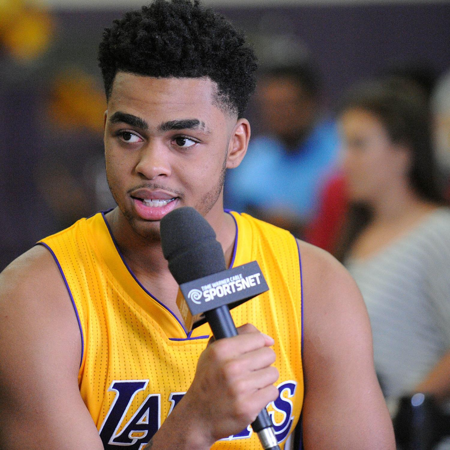 DAngelo Russell bio stats and video highlights