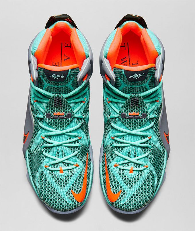 "Nike LeBron 12 ""Instinct"" - SneakerNews.com"