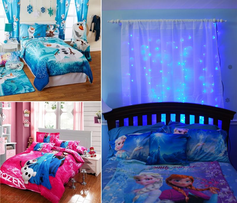 10 frozen movie inspired kids 39 room decor ideas - How to deoration room ...