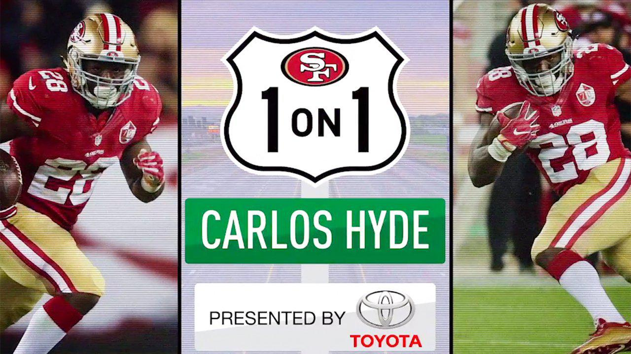 1-on-1: 49ers RB Carlos Hyde