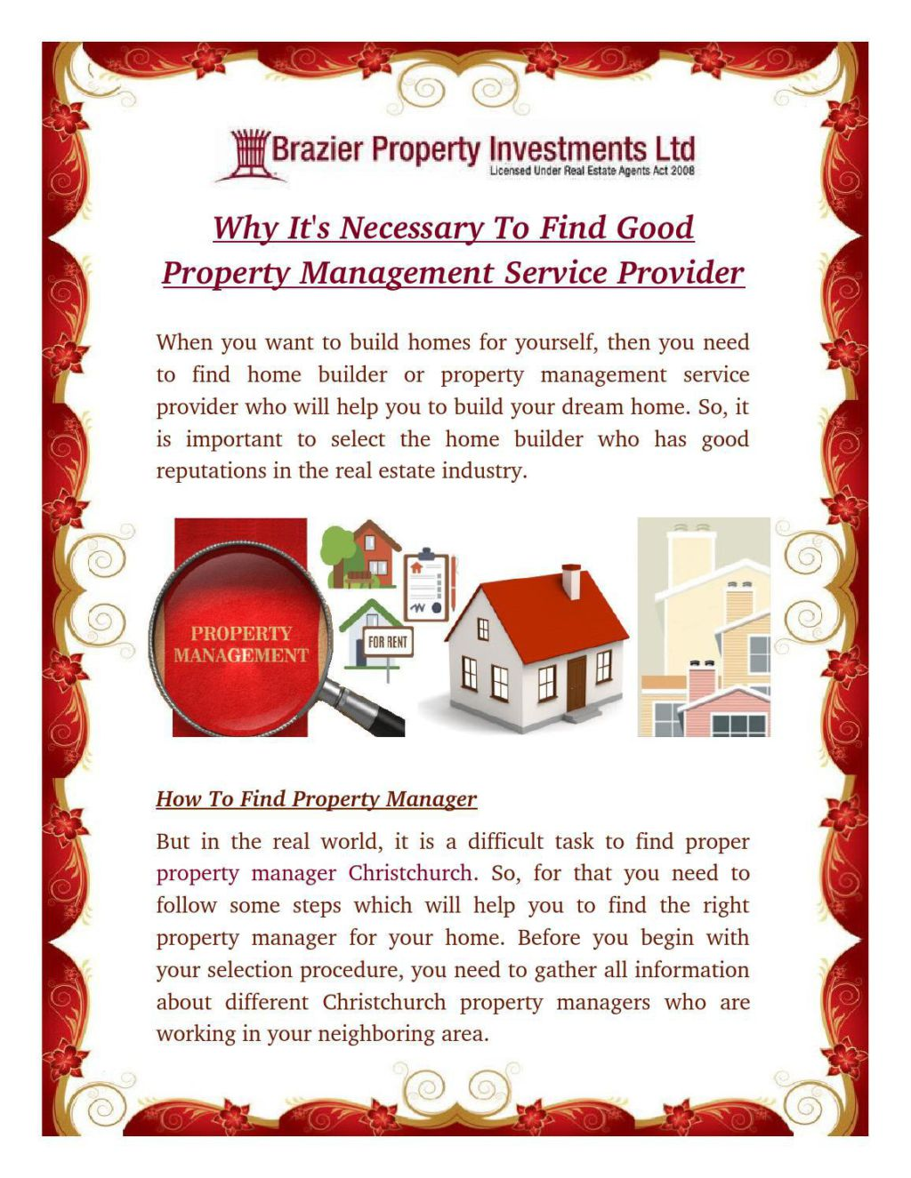 how to find a good property management company
